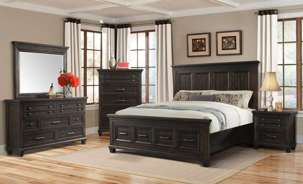 bedroom sets in a House